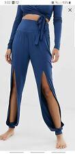 Women's Navy Yoga Pants 10