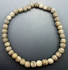 INTERESTING MAMMOTH OSSEIN NECKLACE (858R)