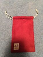 My Nintendo Rewards Super Mario Red Velvet Drawstring Bag - 8 inches