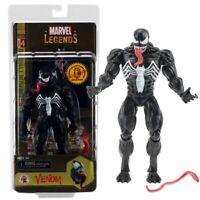 "Marvel Legends Spider-Man Unique Venom Action Figure 7"" Collectible Toy in Box"