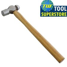 8oz 1/2lb Ball Pein Hammer with Wooden Shaft Tempered Polished Head Metalwork