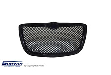 FITS:  CHRYSLER 300C 2004 2005 FRONT GRILLE GLOSSY BLACK