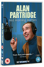 Alan Partridge: Mid Morning Matters DVD 2012 - Steve Coogan - New and Sealed