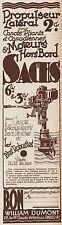 Y8748 SACHS moteurs Hors Bord - Pubblicità d'epoca - 1935 Old advertising