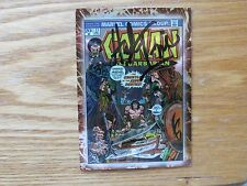 1996 COMIC IMAGES CONAN THE MARVEL YEARS COVER # 33 CARD SIGNED HERB TRIMPE ART