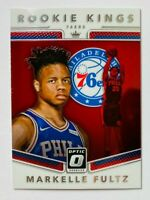 2017-18 Panini Optic Markelle Fultz RC #1, Rookie Kings, 76ers!