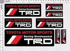 1set trd sport racing development decal sticker print full die-cut vinyl motor