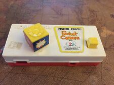 Vintage Fisher Price 1974 Toy Pocket Camera Zoo #464