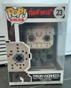 FUNKO POP 8-BIT 23 FRIDAY THE 13TH JASON VOORHEES FIGURE BRAND NEW MIB 8 BIT