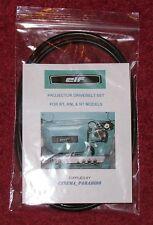 Elf EIKI projecteur 16 mm qualité Drive Poulie Courroie Set - 4 ceintures Modèle RT RM
