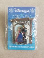Disneyland Paris Pin Frozen Fun Anna Kristoff LE 1000