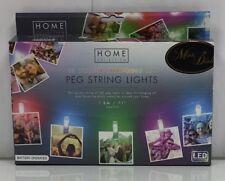 10 colori cangianti LED Peg Stringa Luci-a batteria Peg foto LUCI