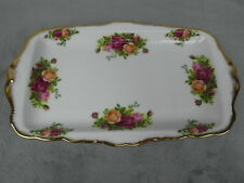 Royal Albert Old Country Roses Large Sandwich Serving Tray 11 3/4""