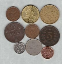 NINE SCANDINAVIA DATED 1876 TO 2000 IN GOOD FINE OR BETTER CONDITION