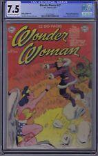 Wonder Woman #47 DC Pub 1951 CGC 7.5 (VERY FINE -)