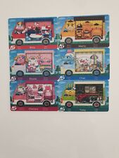 Cartes Amiibo Animal Crossing Sanrio Nintendo Lot 6