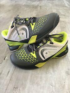 Head Revolt Pro Men's Black Yellow White Tennis Shoes Size 8.5