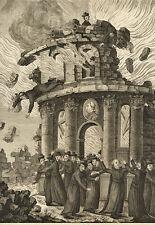 Karikatur/Satire/Jesuiten/Frankreich: Extinction de la Société des Jesuites,1770