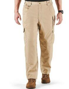 511 Tactical Series TACLITE PRO PANTS Khaki Mens 46 x 39 Un Hemmed Ripstop