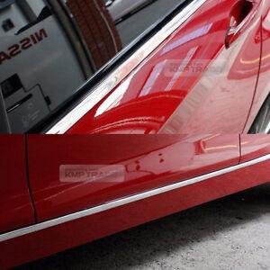 Car Window & Door Edge Chrome Silver Garnish Molding Cover 5meter For Pontiac