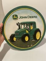 john deere ceramic Wall Mount With Tractor Rare