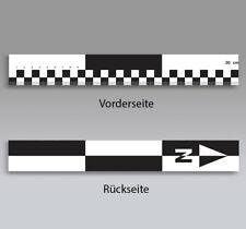 Fotomaßstab 30 cm : Vergleichsmaßstab mit Kontrastfeldern und Nordpfeil : PVC