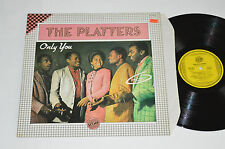 THE PLATTERS Only You LP 1982 Score Records Made in France Vinyl SCO-8979 VG+/VG