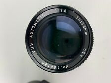 YUS Automatic 135mm f/2.8 Lens in Yashica / Contax  C/Y Mount W/ Case