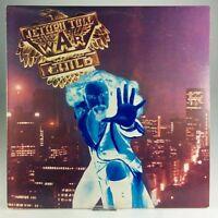 Jethro Tull War Child VG Vinyl Blue Label Lyric Sleeve Chrysalis CHR 1067 1974