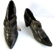 SPIRAL Stiefel Stiefeletten Cowboy-Stiefel alle Leder braun nuanciert 38