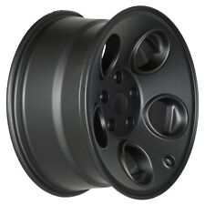 "08-16 JEEP WRANGLER JK 17 X 8.5"" CLASSIC 5 WHOLE BLACK WHEEL OEM NEW MOPAR"