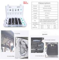 290X Plastic Rivet Clip Fastner Accessory for Car Side Skirts Bumper Hood Trunk