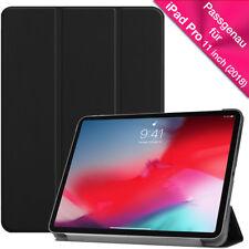 iPad Pro 11 Inch 2018 Schutzhülle FLIP CASE Smart Cover Standfunktion SCHWARZ