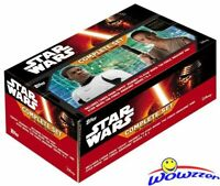 2016 Topps Star Wars The Force Awakens EXCLUSIVE Complete 310 Card Factory Set