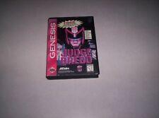 Sega Genesis Judge Dredd with box tested