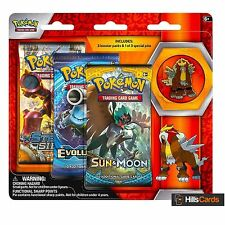 Pokemon Cards: Legendary Beasts - Entei: 3 Pack Pin Blister - Triple Booster