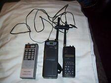 Scanner Lot Of 3 (Uniden Bearcat Sc-150B Radio Shack Trc-237 Realistic 20-139)