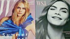Cara Delevingne W Magazine June July 2016 Summer Lust Cover + BONUS WSJ 2015