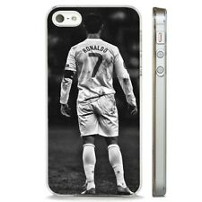 Ronaldo Portugal Real Madrid CLEAR PHONE CASE COVER fits iPHONE 5 6 7 8 X