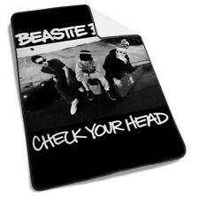 Beastie Boys check your head Fleece Blanket