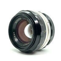 【EXC】Nikon NIKKOR S.C Auto 50mm f/1.4 MF Non-Ai Lens SLR FIlm Camera From Japan