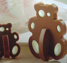 Nueva De Silicona 3d Oso Panda Chocolate Molde Pastel Cookie ranura Mason Cash 941