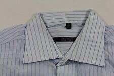 T0052 Eterna Excellent Businesshemd Kombimanschette 40 Hellblau Blau Weiß gestre