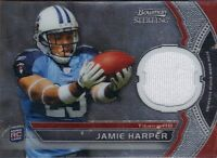 2011 Bowman Sterling RC Jersey - JAMIE HARPER #BSR-JH - Titans  RC
