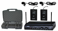 Audio2000'S AWM6032UM Lavaliere (Lapel) Wireless Microphone System  -MR