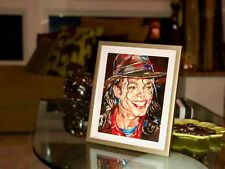 "Michael Jackson Print Art - ""That Smile!"" - Collector's Item -Exclusive Portrait"