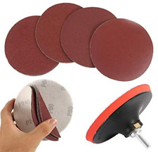 """Welcomefee 12Pcs 5"""" Sanding Discs Pad Kit for Drill Grinder Rotary Tools with"""
