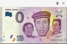 0 Euro Kemal Sunal - 0 Euro Turkey - Rare - Kemal Sunal - 5000 PCS Limited
