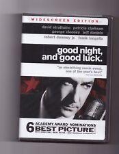GOOD NIGHT AND GOOD LUCK DVD WIDESCREEN