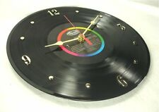 "PINK FLOYD Recycled Record Wall Clock ""Dark Side Of The Moon"" (1973) DSOM"